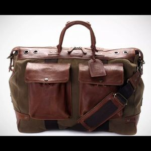 362c759d5 Will Leather Goods Oaxacan Duffle Bag! $475 $695. Will Leather canvas Duffle